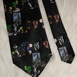 Looney Tunes Stamp Collection Tie 57""